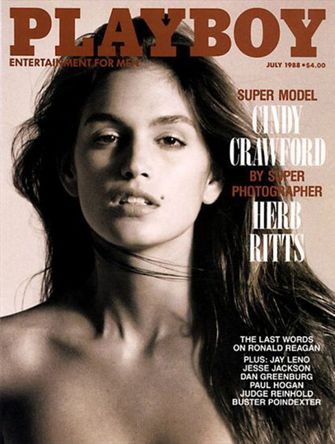 cindy crawford, playboy cover