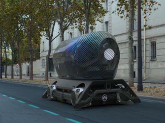 Citroën skate, elektrische auto, pods, frankrijk