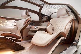 Bentley EXP 100 GT, elektrische auto, supercar, 100 jaar