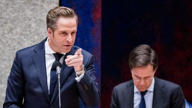 Hugo de Jonge Mark Rutte Even Tot Hier
