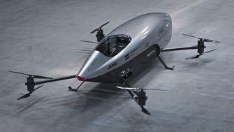 Elektrische vliegende auto