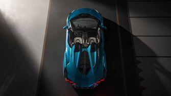 Lamborghini Sian Roadster, cabrio, hybride supercar
