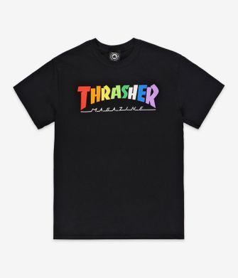trasher, ti-shirt, pride month, fashion items