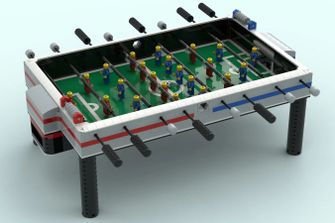 2-5-3: LEGO snapt het wel met nieuwe voetbaltafel