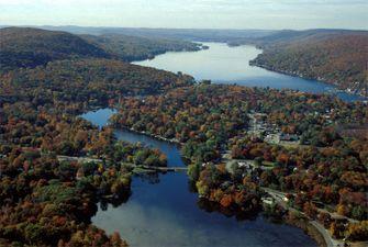 greenwood lake, appalachian trail, wandelen, amerika, verenigde staten