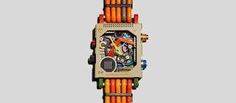 vollebak, garbage watch, horloge, tech-afval