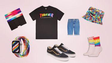 pride month, collecties, levi's, trasher, calvin klein, statement, merken, vans