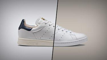 witte sneakers cureren manners nike adidas sneaker