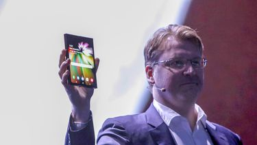 Samsung opvouwbaar scherm