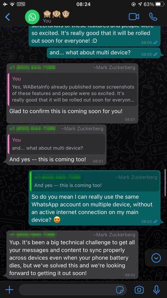 WhatsApp langverwachte feature