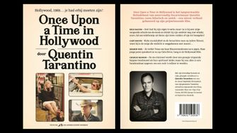 once upon a time in hollywood, boek, trailer, quentin tarantino, novel