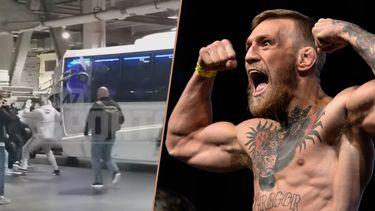 Conor McGregor steekwagen bus UFC