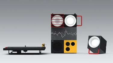 ikea, teenage engineering, frekvens, speaker, licht, collectie, modulair