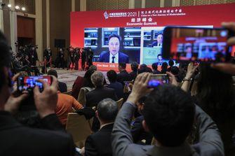 China Development Forum Elon Musk 2021 in Beijing
