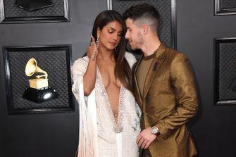 grammy awards 2020, beste en meest sexy looks, Priyanka Chopra, Nick Jonas