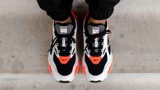 puma rs fast, sneakers, instagram game