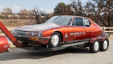 Museumstuk: snelste Citroën ooit levert recordbedrag op tijdens veiling