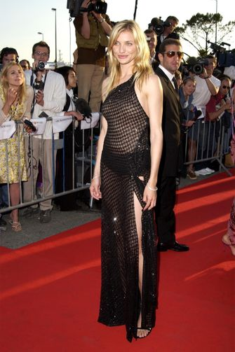 cameron diaz, meest sexy rode loper looks, filmfestival cannes, 2021