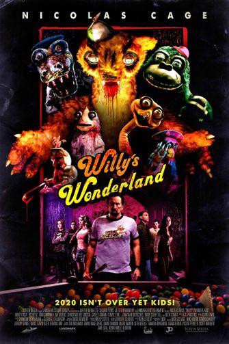 Willy's Wonderland Nicholas Cage