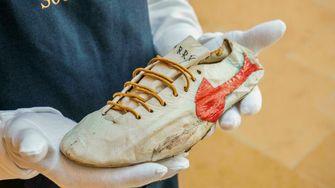 nike, spikes, Bill Bowerman, duurste sneakers ooit, olympische spelen, tokio, sotheby's