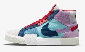 Nike SB Zoom Blazer Mid Premium Barcelona, sneakers, nieuwe releases, week 25