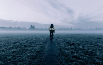 Afvallen op de fiets fietsen