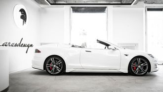 Tesla Model S Cabrio, ares design