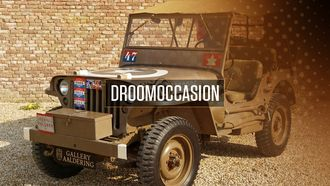 tweedehands, Ford Willys Jeep, 1942, oldtimer, occasion