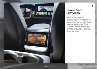 Tesla Model S Witcher 3 Playstation 5