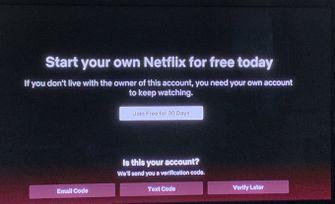 Netflix account delen wachtwoord