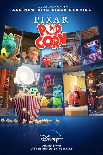 Pixar Popcorn Disney+