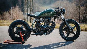 betaalbare custom bikes, honda, onder de 2500 euro