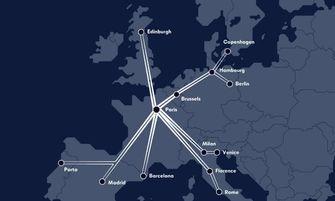 europees netwerk, nachttreinen, treinen, parijs