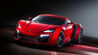 W Motors Lykan Hypersport Fast and Furious 7, NFT
