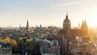 Dakterassen in Amsterdam