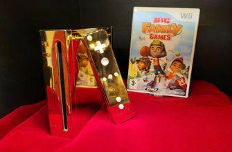 Nederlander zet 24-karaats Nintendo Wii van Britse koningin te koop