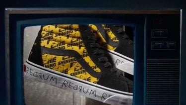 vans, sneakers, horrorfilms, the shining, horror, halloween, collectie, redrum