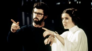 star wars, george lucas, princess leia, carrie fisher