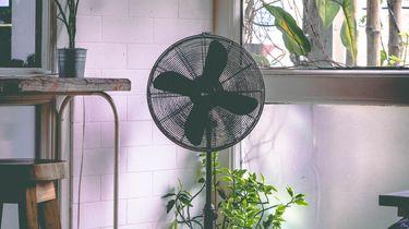 Ventilatoren airconditioning hitte zomer