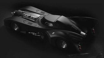 Batman-klok Batmobile Kross Studio