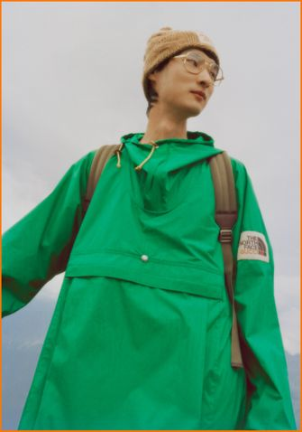 Gucci en The North Face, buirne puffer