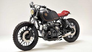 two face, deus ex machina, custom bike, BMW R100S