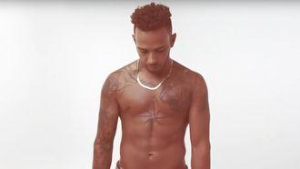 De tattoos van Lewis Hamilton