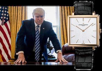 Vacheron Constantin Historiques Ultra-Fine 1968, donald trump, favoriete horloges