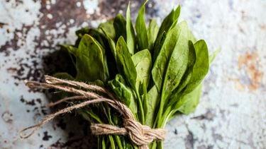 spinazie, functionele voeding, buikje, afvallen