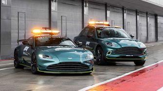 Aston-Martin-Vantage-25, formule 1 safety car, medical car