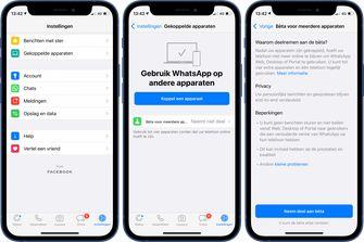 WhatsApp nu écht op meerdere apparaten tegelijk te gebruiken