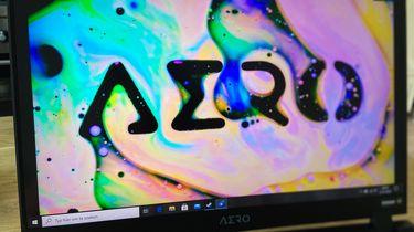 Gigabyte Aero 17 gaming laptop