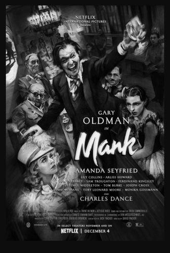 Gary Oldman Netflix Mank