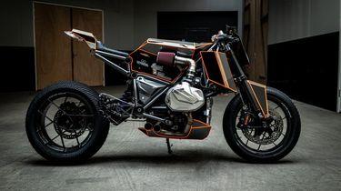 Arjan van den Boom BMW R1250 GS custom bike